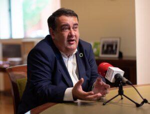 El Alto Comisionado para la lucha contra la pobreza infantil, Ernesto Gasco - ISABEL INFANTES/EUROPA PRESS