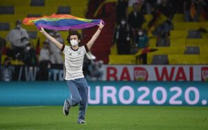 Espontáneo en el Alemania - Hungría del Allianz Arena - Federico Gambarini/dpa