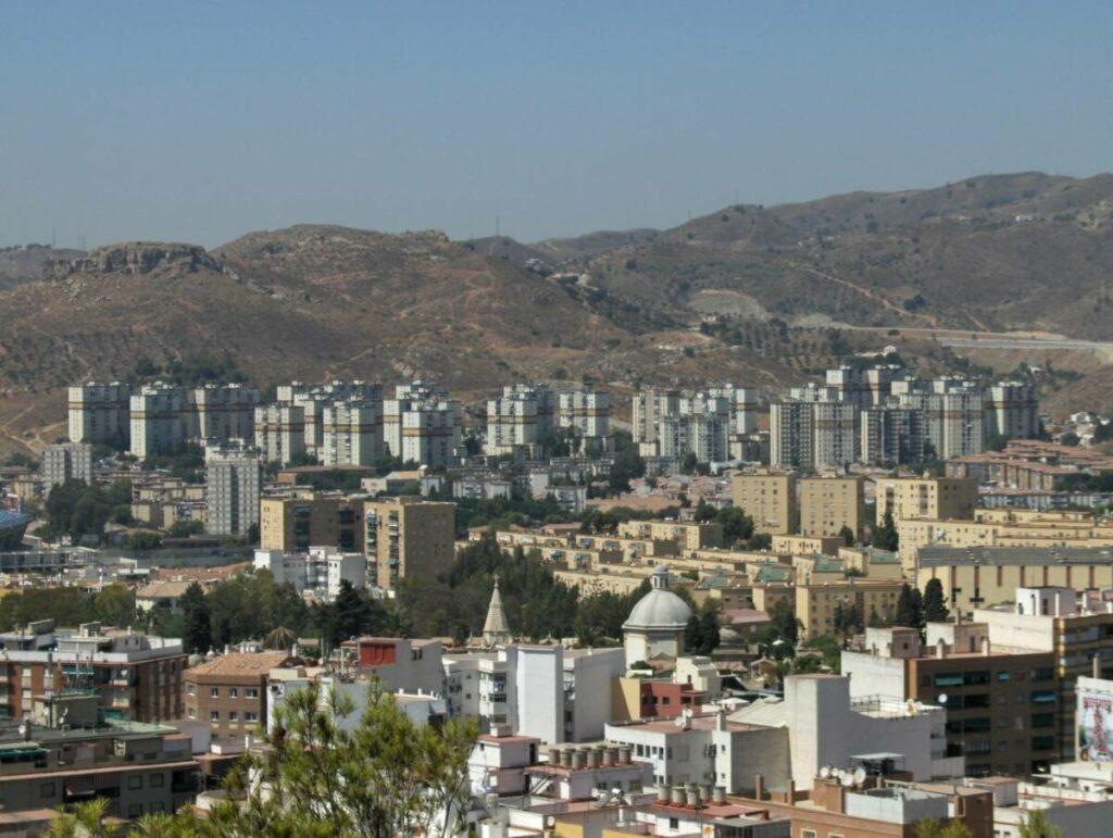 Vista del distrito Palma-Palmilla, en Málaga