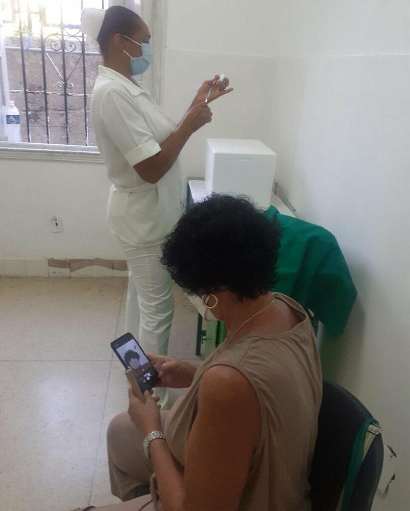 Vacunación en Cuba