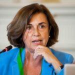 Ángeles Santamaría, Consejera Delegada de Iberdrola España, durante su intervención en el curso de verano organizado por la APIE en la UIMP de Santander.