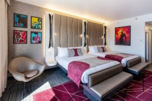 Habitación del Disney's Hotel New York - The Art of Marvel. - DISNEY