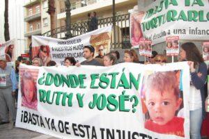 Ruth Ortiz En La Manifestación De Huelva El 8 De Mayo. - EUROPA PRESS