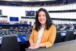 Idoia Villanueva, europarlamentaria navarra de Podemos - PODEMOS