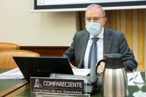 El director del Departamento de Seguridad Nacional, el general Miguel Ángel Ballesteros, en el Congreso - CONGRESO