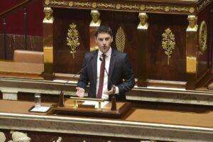 Mickael Nogal, diputado del partido La República en Marcha (LREM) - CEDIDA POR MICKAEL NOGAL
