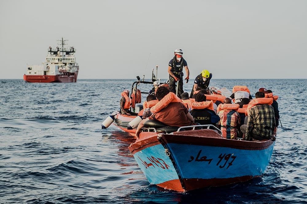 Rescate de migrantes por la ONG SOS Mediterranée - Flavio Gasperini/SOS Mediterrane / DPA