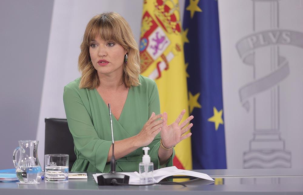 La ministra de Educación y FP, Pilar Alegría / Foto: E. Parra - Europa Press