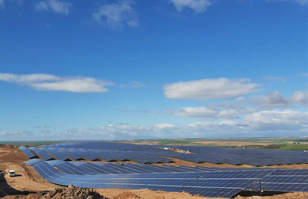 Planta fotovoltaica de Iberdrola en Bargas.