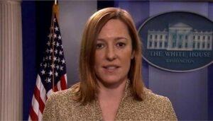 La portavoz de la Casa Blanca, Jen Psaki