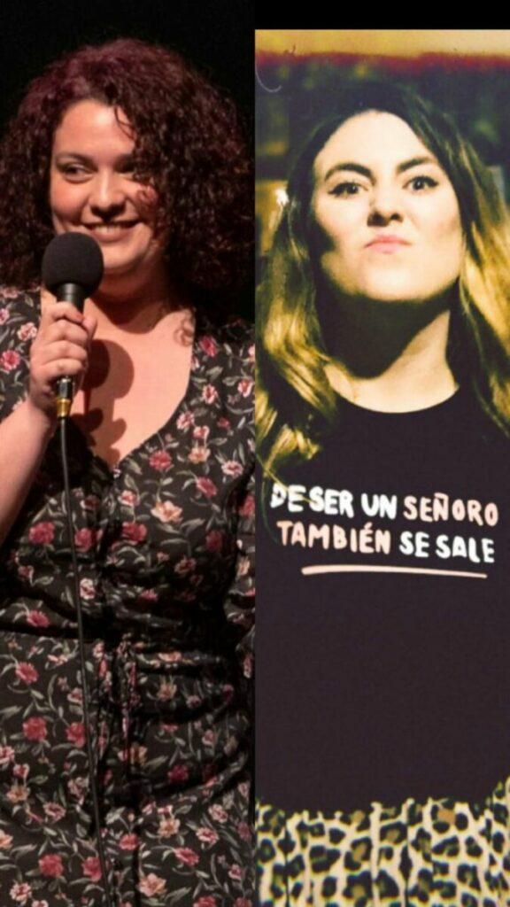Beatriz Cepeda (Perra de Satán) y Sara García (Penny Jay) / Fotografía de Alberto Ortega y de la Riot Comedy