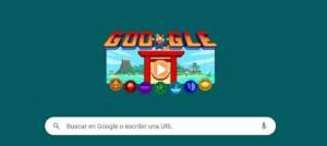 Doodle de Juegos Olímpicos de Tokyo 2020 con juego de rol - GOOGLE
