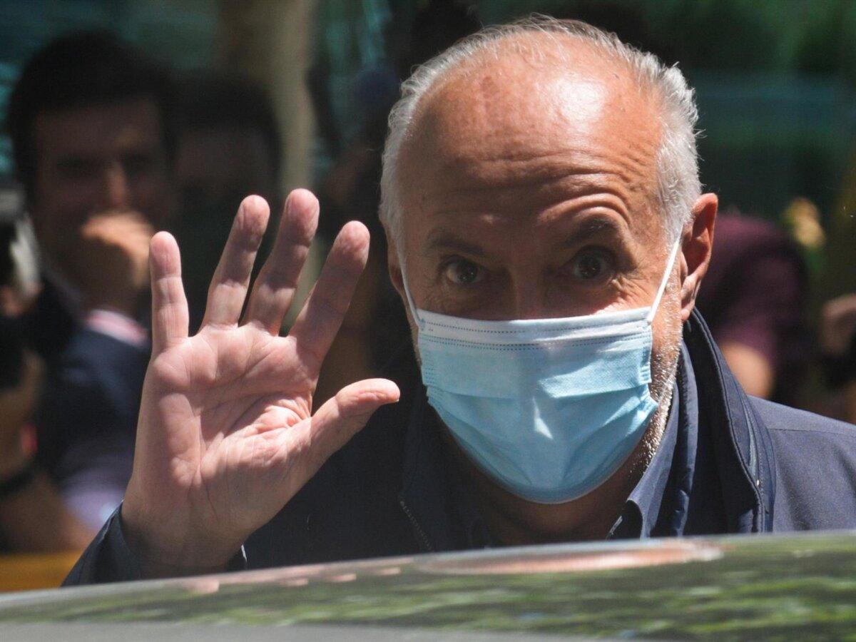 José Luis Moreno a su salida de la Audiencia Nacional por la 'Operación Titella' - EUROPA PRESS