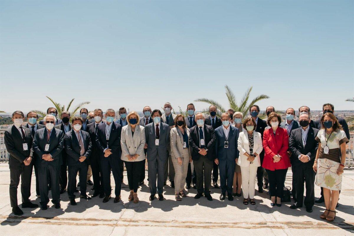 La alianza #CEOPorLaDiversidad celebra el primer encuentro presencial de su segundo año de andadura, en Madrid a 7 de julio de 2021 - ANA ENCABO