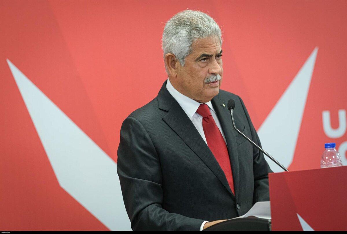 El presidente del Benfica, Luís Filipe Vieira. - GERARDO SANTOS / ZUMA PRESS / CONTACTOPHOTO