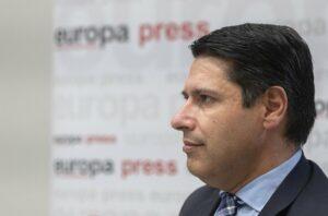 El vicepresidente del Banco Europeo de Inversiones (BEI) Ricardo Mourinho Félix. - EUROPA PRESS