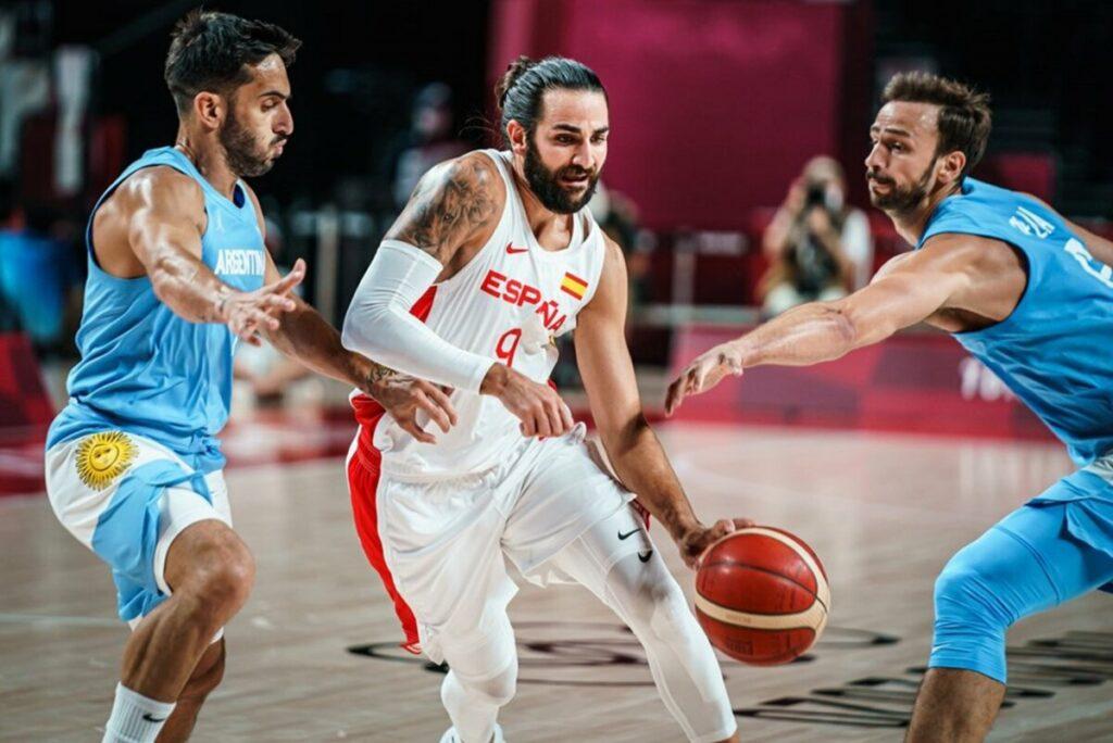 Ricky Rubio conduce a España a cuartos de final