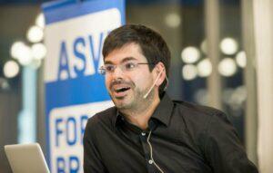 El científico alemán Martin Müller. / Foto cedida por el entrevistado