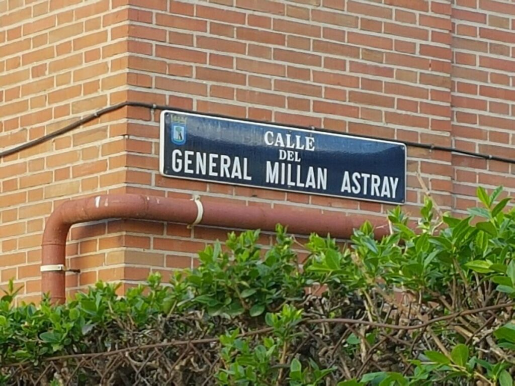 Archivo - Calle Millán Astray - EUROPA PRESS - Archivo