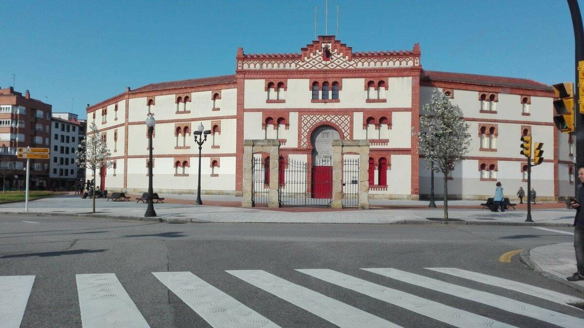 Plaza de Toros de Gijón, El Bibio. - EUROPA PRESS