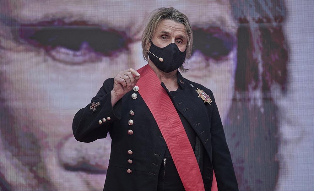 Nacho Cano durante la ceremonia de imposición de Medallas de la Comunidad de Madrid del Dos de Mayo. Archivo. - EUROPA PRESS/J. Hellín. POOL - Europa Press
