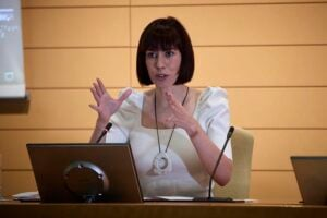 La ministra de Ciencia e Innovación, Diana Morant / Foto: Jesús Hellín - Europa Press
