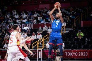 Durant en el España - USA - FIBA