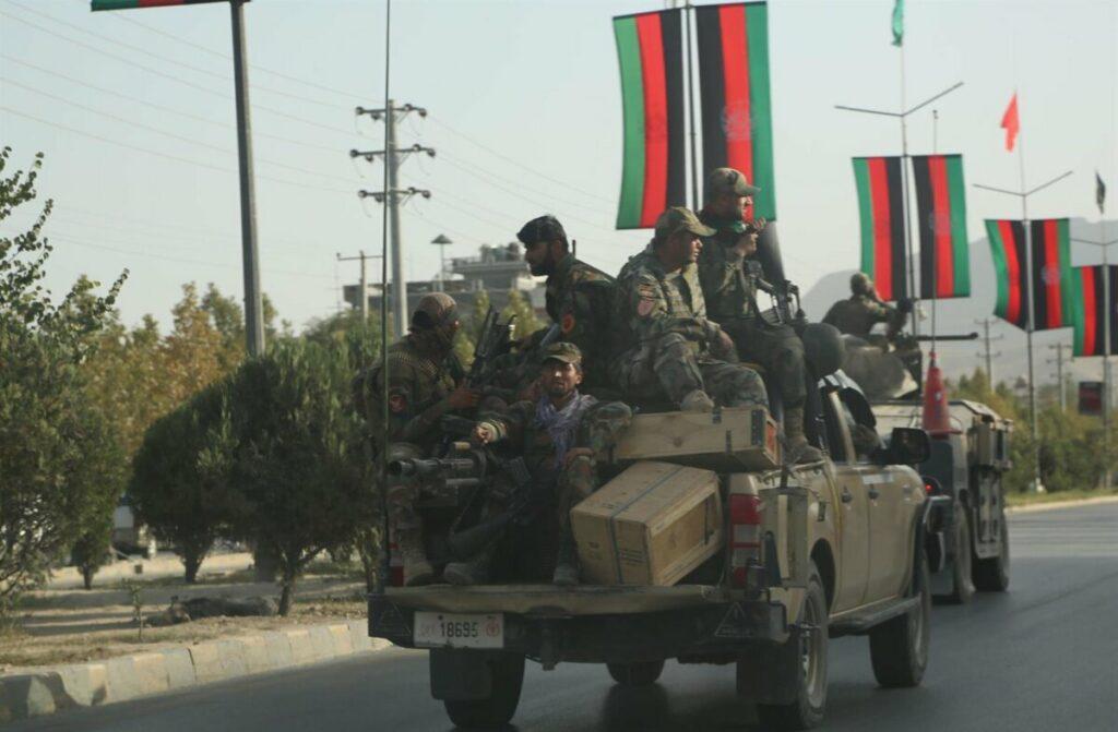 Vehículos militares en Kabul - RAHMATULLAH ALIZADAH / XINHUA NEWS / CONTACTOPHOTO