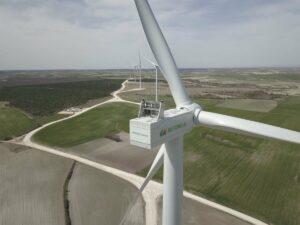 Complejo eólico Herrera II de Iberdrola, en la provincia de Burgos. - IBERDROLA