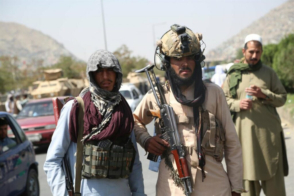 Milicianos talibán en Kabul - STR / XINHUA NEWS / CONTACTOPHOTO