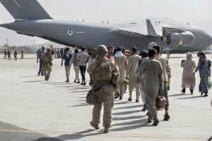 Evacuación en el aeropuerto de Kabul - SGT. SAMUEL RUIZ/U.S. MARINE / ZUMA PRESS / CONTAC