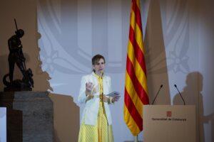 La consellera de Accíon Exterior y Transparencia, Victòria Alsina, en una foto de archivo. - David Zorrakino - Europa Press - Archivo