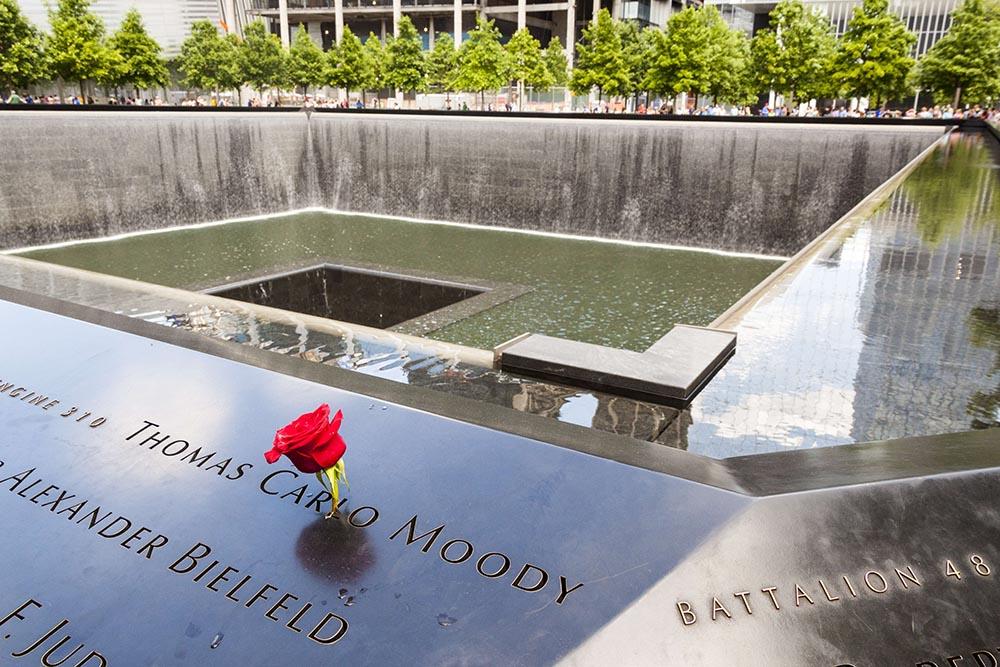 Monumento a la memoria de las víctimas del 11 de septiembre de Nueva York - MEL LONGHURST / ZUMA PRESS / CONTACTOPHOTO