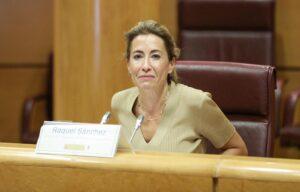 La ministra de Transportes, Movilidad y Agenda Urbana, Raquel Sánchez. - Marta Fernández Jara - Europa Press