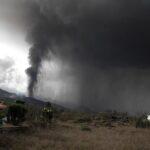 Los gases el volcán, muy tóxicos, pueden llegar el viernes a la Península y después a Francia e Italia