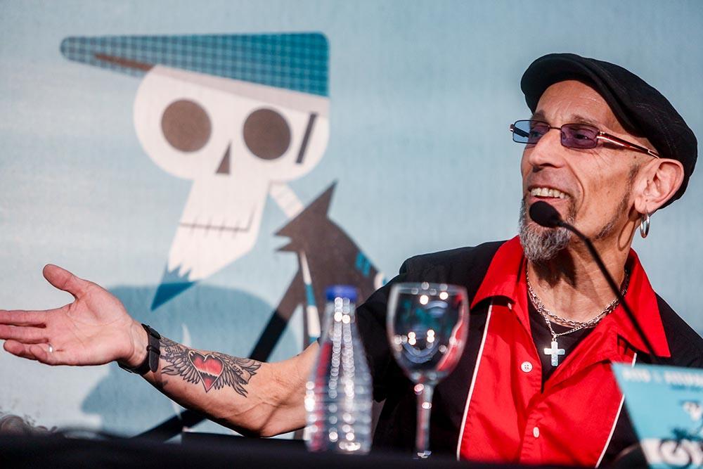 El cantante Fito Cabrales, durante una rueda de prensa en el WiZink Center, a 24 de septiembre de 2021, en Madrid (España). - Ricardo Rubio - Europa Press