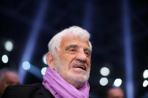 El actor francés Jean-Paul Belmondo - Rolf Vennenbernd/dpa