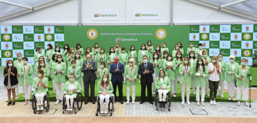 Iberdrola renueva su apoyo a las olímpicas y paralímpicas españolas hasta los Juegos de París 2024. - IBERDROLA
