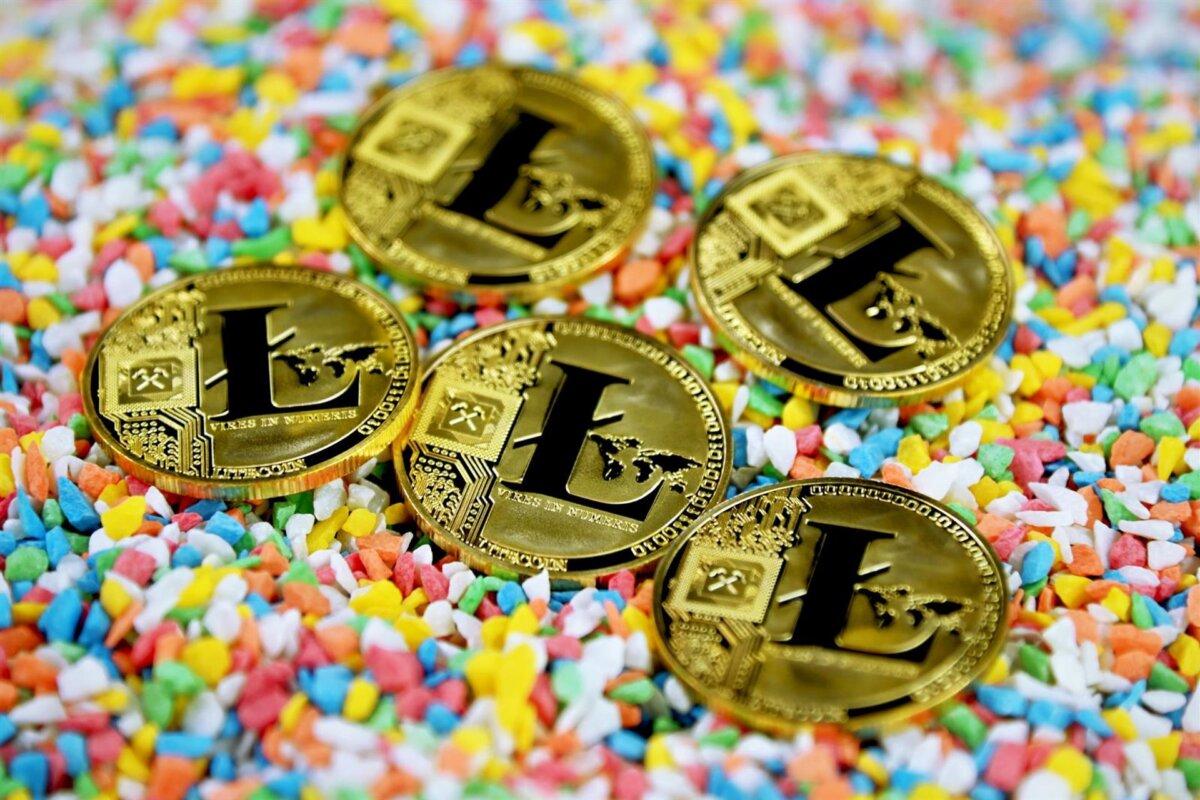 Representación gráfica de Litecoin. - EXECUTIUM