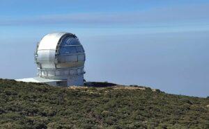 El observatorio del Roque de los Muchachos, en La Palma (Canarias). / Pedro José Vidal Moreno-UAH