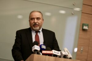 El líder de Yisrael Beitenu y ministro de Finanzas de Israel, Avigdor Lieberman - Ilia Yefimovich/dpa