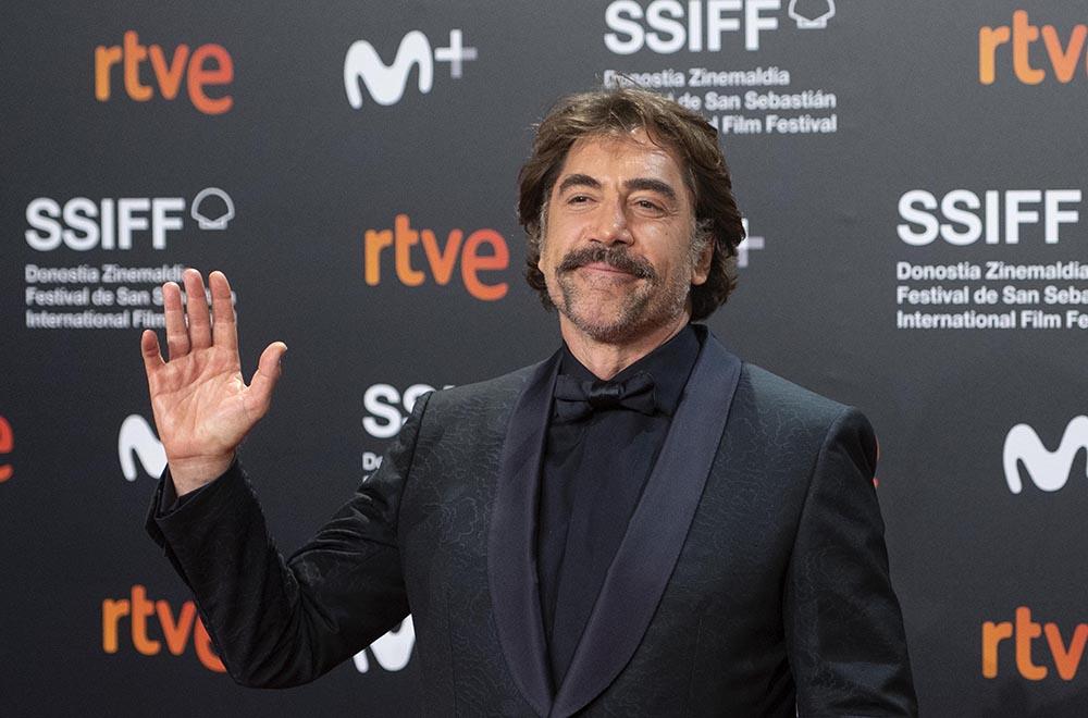 El actor Javier Bardem posa durante la premiere de la película 'El buen patrón' - Alberto Ortega - Europa Press