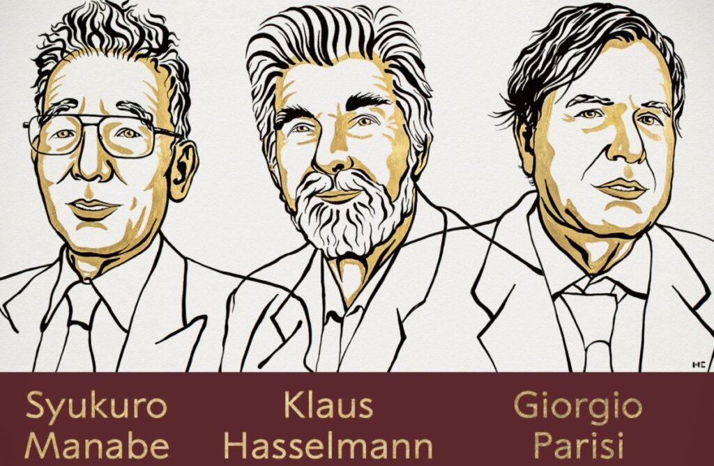Galardonados con el Nobel de Física 2021 - NOBEL PRIZE.ORG