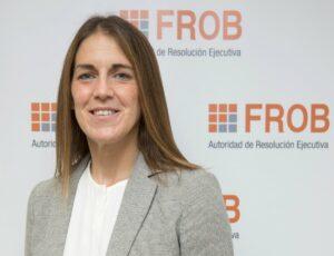 La presidenta del FROB, Paula Conthe