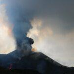 Imagen del volcán de La Palma cuando se cumplen 24 días de la erupción - INVOLCAN