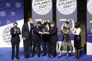 Los ganadores y finalista del 70 Premio Planeta - KIKE RINCÓN - EUROPA PRESS