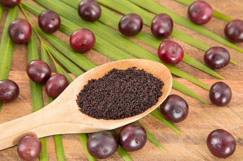 Las bayas de acai tienen propiedades antioxidantes