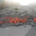 Colada volcán de La Palma