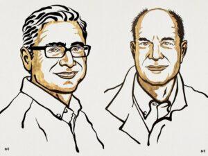 """David Julius y Ardem Patapoutian, Premio Nobel de Fisiología y Medicina 2021 conjunto """"por sus descubrimientos de los receptores de la temperatura y el tacto"""" - NIKLAS ELMEHED NOBEL PRIZE OUTREACH"""