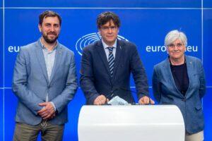 Parlamento Europeo.- La Justicia europea confirma la retirada de la inmunidad de Puigdemont, Comín y Ponsatí - Jan Van De Vel/European Parliame / DPA